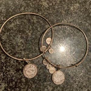 Alex and Ani Chicago Blackhawks bangles